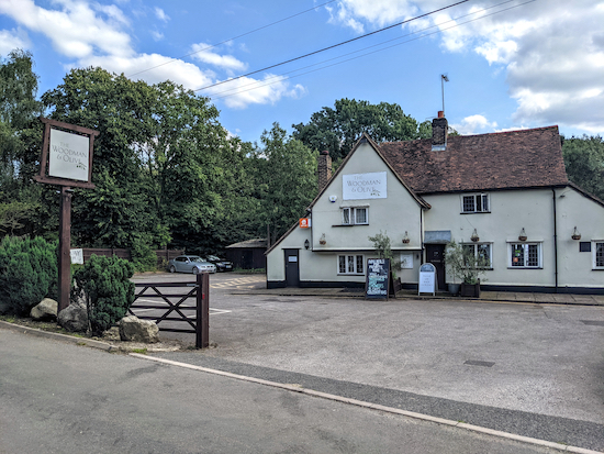 The Woodman & Olive, Wormley West End