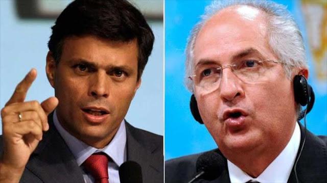 Venezuela: López y Ledezma violaron reglas de arresto domiciliario