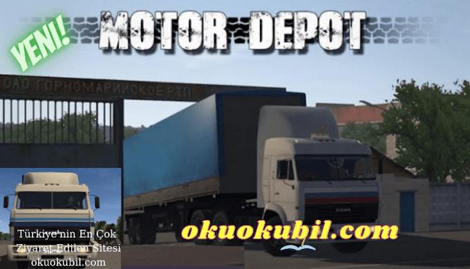 Motor Depot v1.231 Araç + Para Hileli Mod Apk + Kilitler Açık İndir