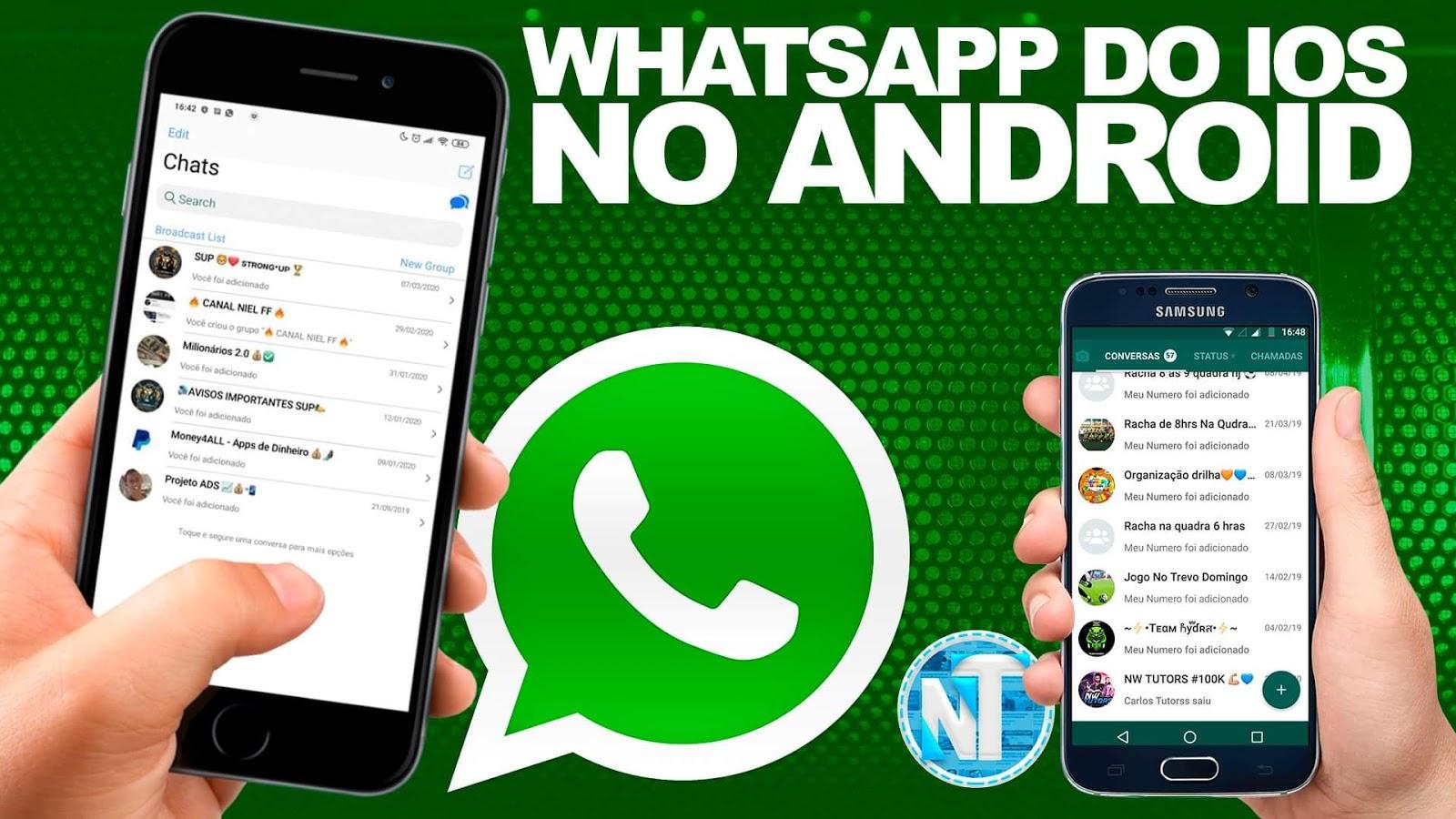 Ficou lindo!! Como Deixar o Whatsapp igual do IPHONE X