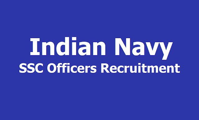 Indian Navy SSC Officers Recruitment 2019, Apply online till April 5