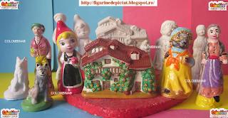 set figurine de pictat povesti copii