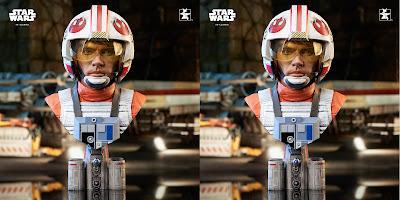 Star Wars: A New Hope X-Wing Pilot Luke Skywalker Legends in 3D Resin Bust by Gentle Giant