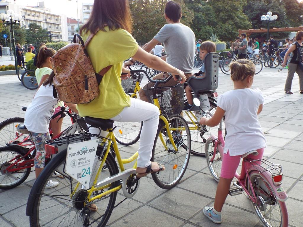 Για ασφαλέστερους πεζούς και ποδηλάτες στα Τρίκαλα