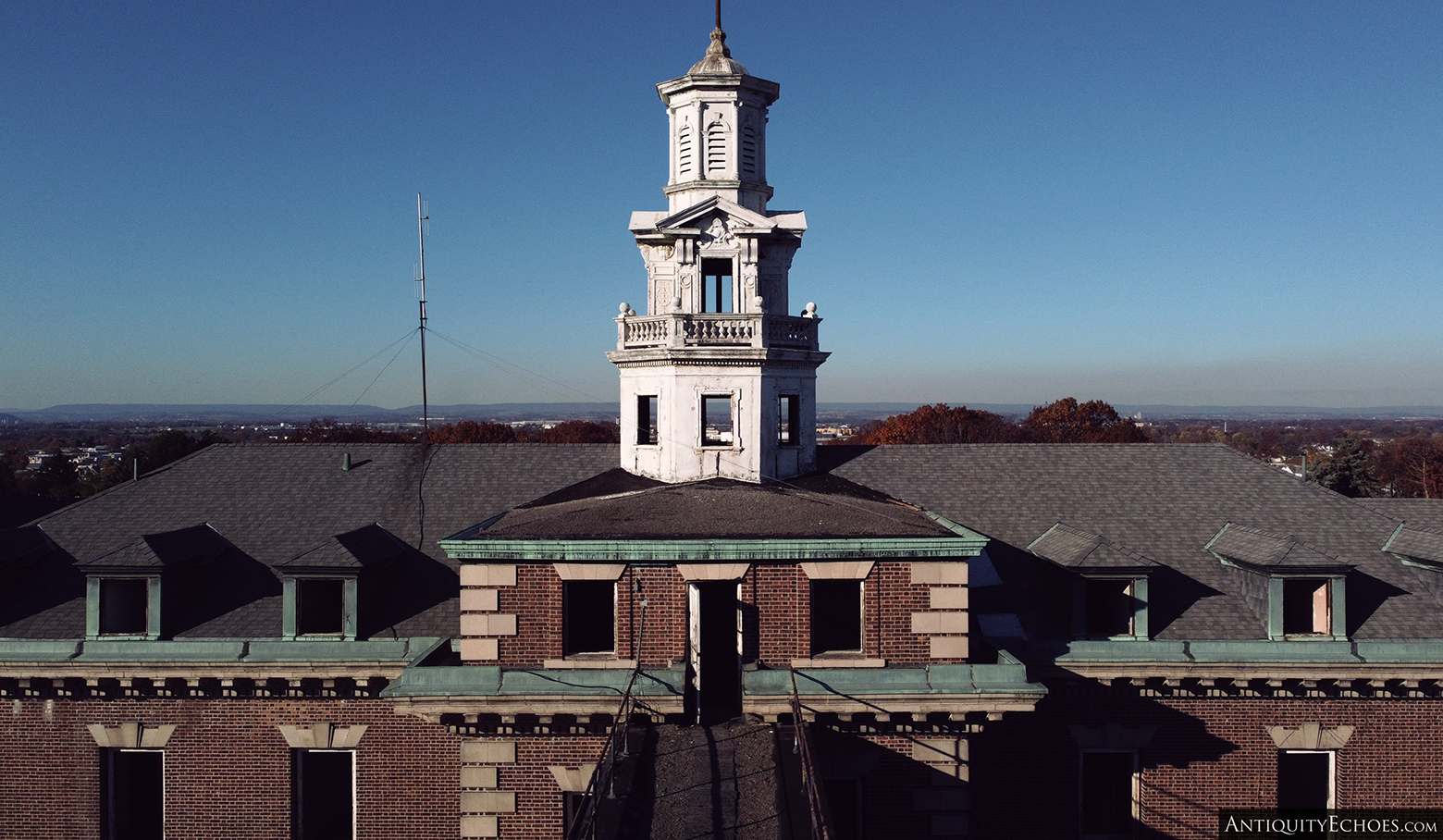 Allentown State Hospital - Rooftop and Spire