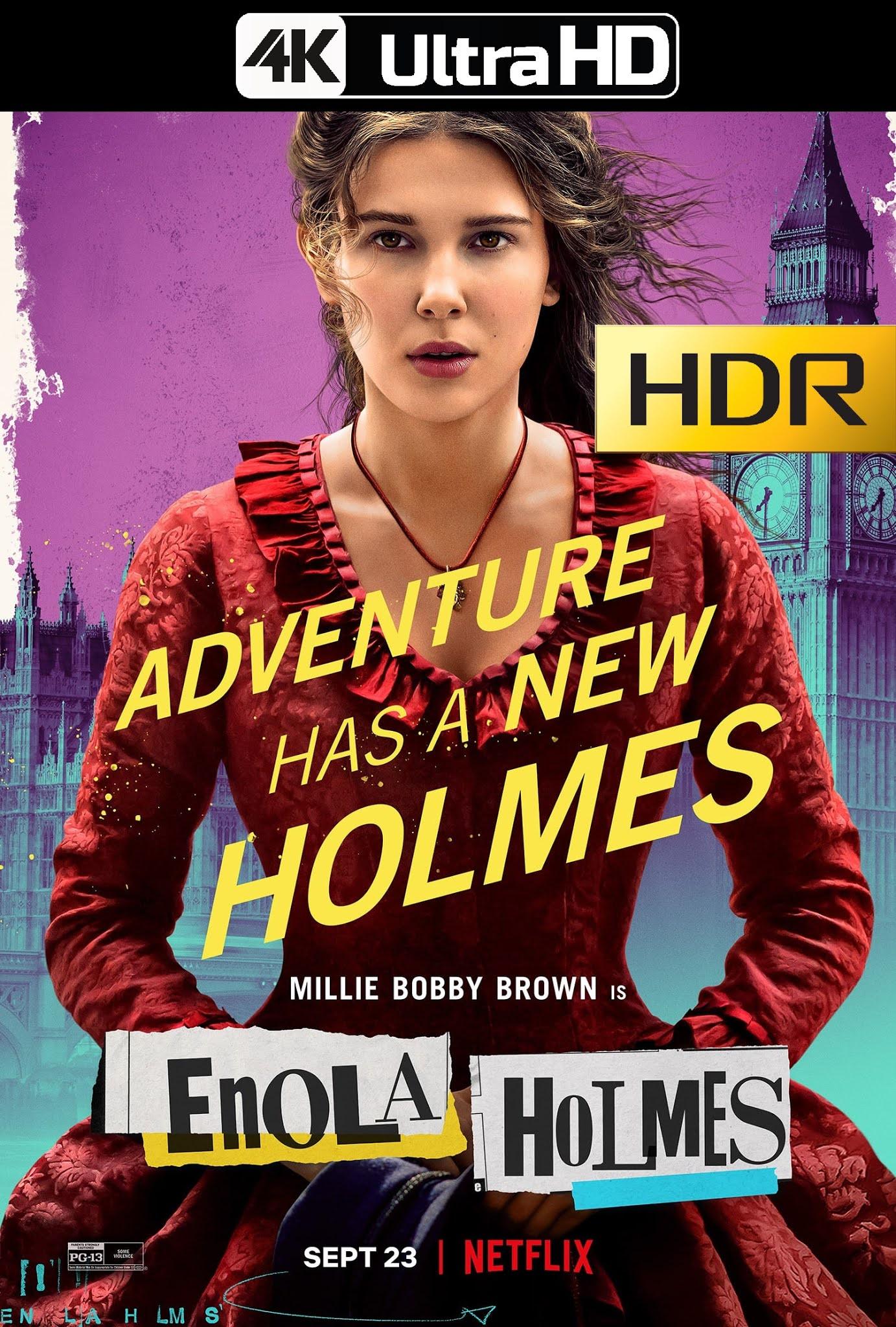 Enola Holmes (2020) 4K UHD HDR WEB Latino