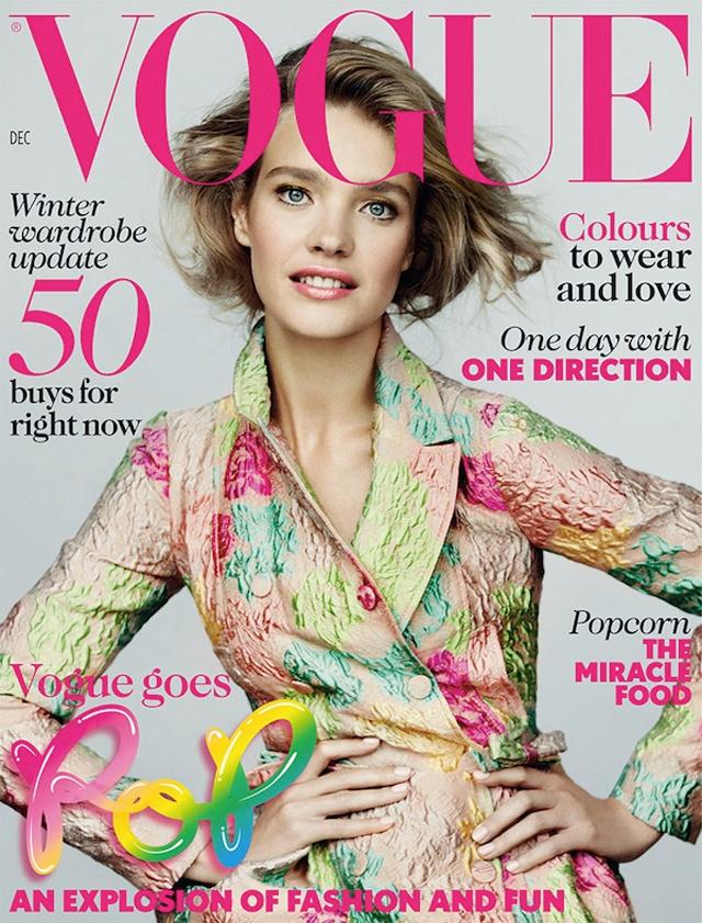 Natalia Vodinova Vogue Cover Valentino