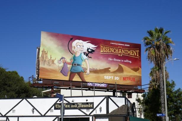 Disenchantment season 2 billboard