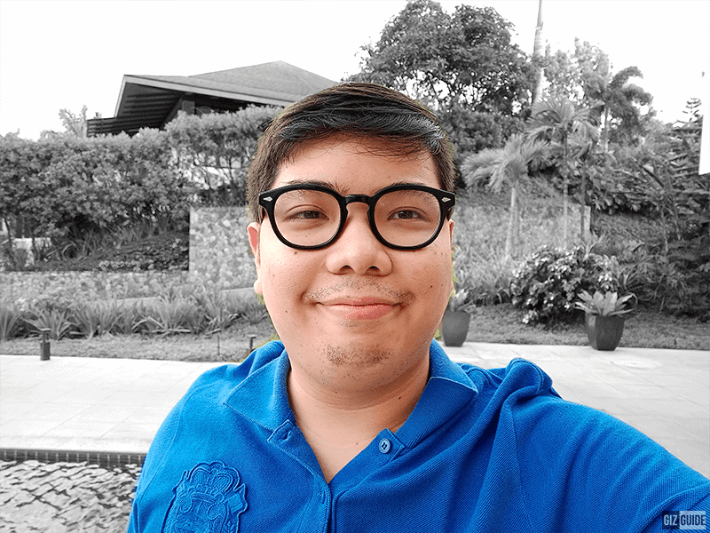 Bokeh mode edge detection is very good!