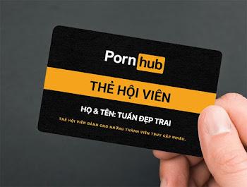 Chế ảnh vui thẻ hội viên Porn Hub