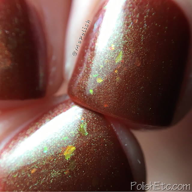 Lilypad Lacquer exclusive shades for Color4Nails - McPolish - Love Me or Leave Me