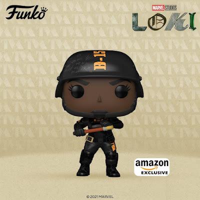 Amazon Exclusive Loki Hunter B-15 Pop! Marvel Vinyl Figure by Funko