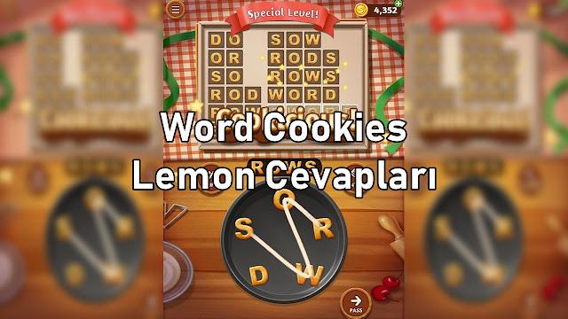 Word Cookies Lemon Cevaplar