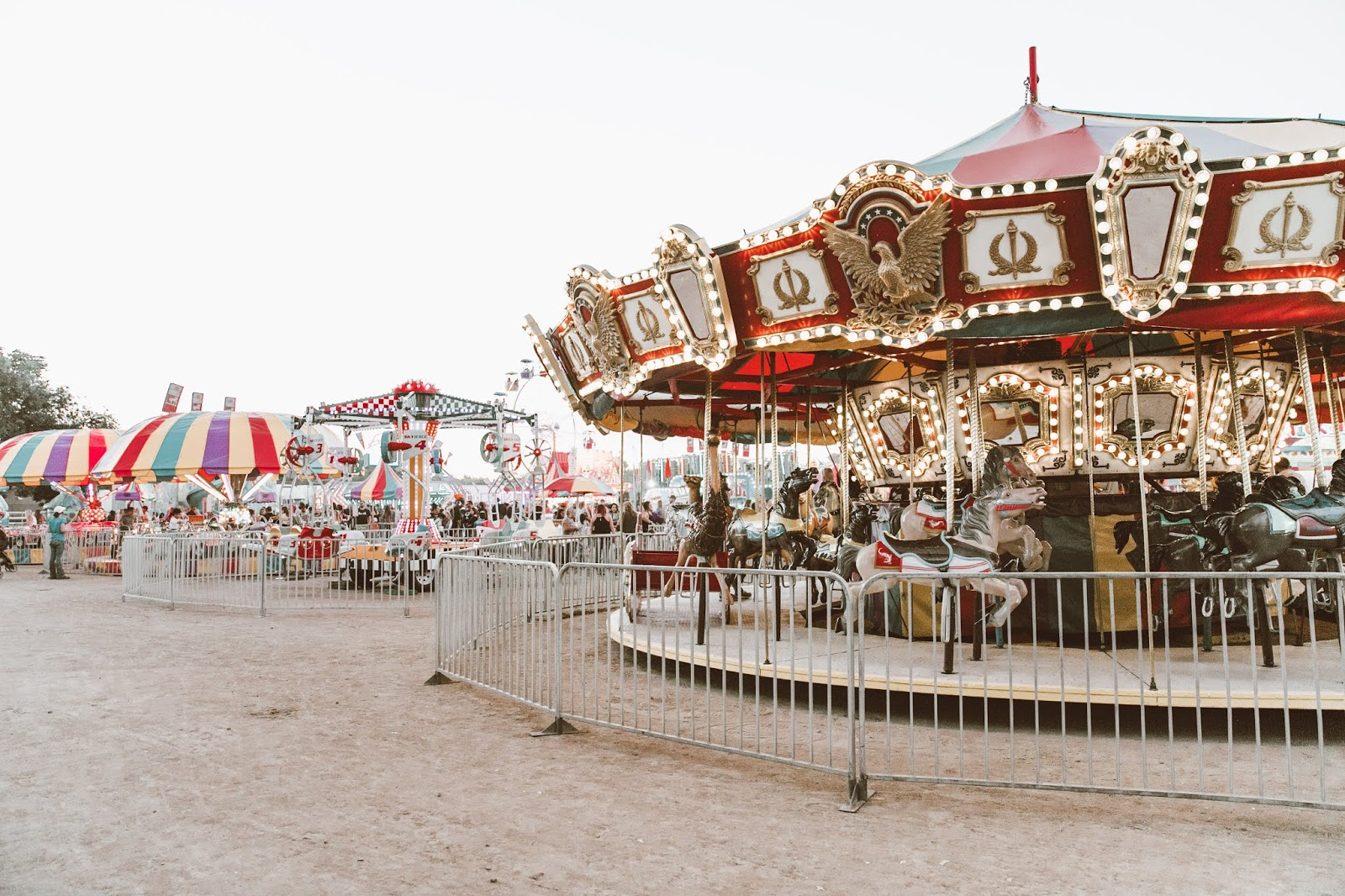 Shelly Stuckman, Yavapai County Fair, fall style 2018, merry-go-round, carousel, ArizonaGirl.com