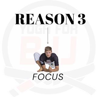 Focus improves your BJJ