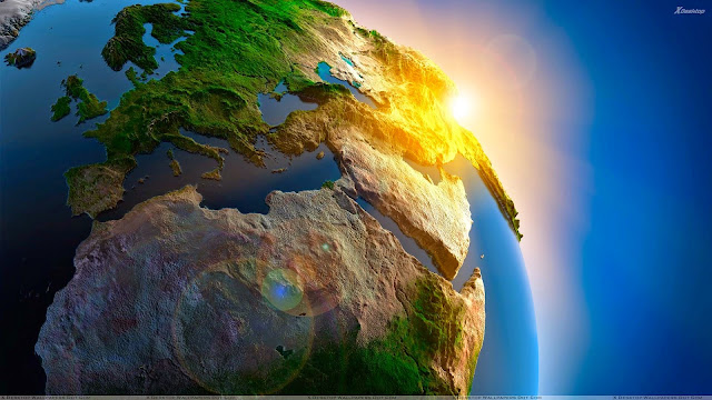 earth close up