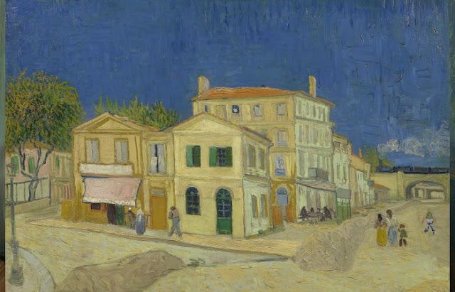 """Vincent Van Gogh """"A Casa Amarela"""" (1888)"""