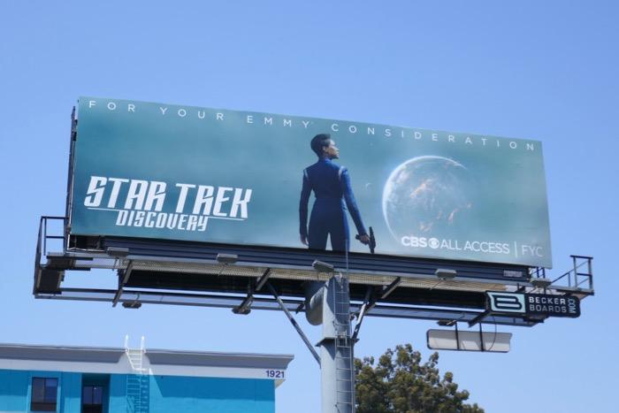 Star Trek Discovery season 2 Emmy FYC billboard