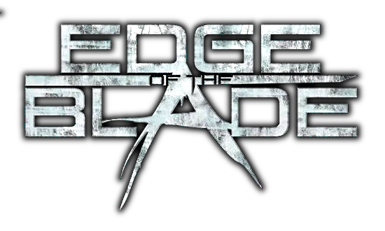 EDGE OF THE BLADE - The Ghosts Of Humans (2015) logo