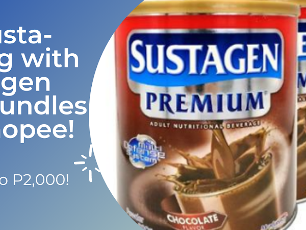 Be Susta-strong with Sustagen Big Bundles on Shopee!