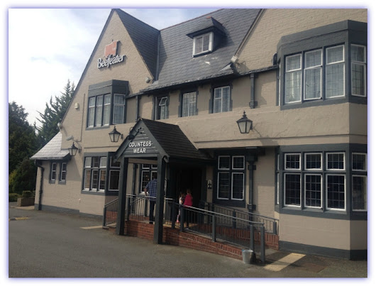 Family Fun at The Countess Wear Beefeater, Exeter