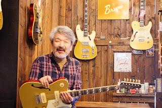 稲葉政裕 ブルーノギターズ TN-295 Masahiro Inaba