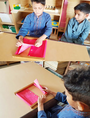 Montessori Snapping Frame Activity