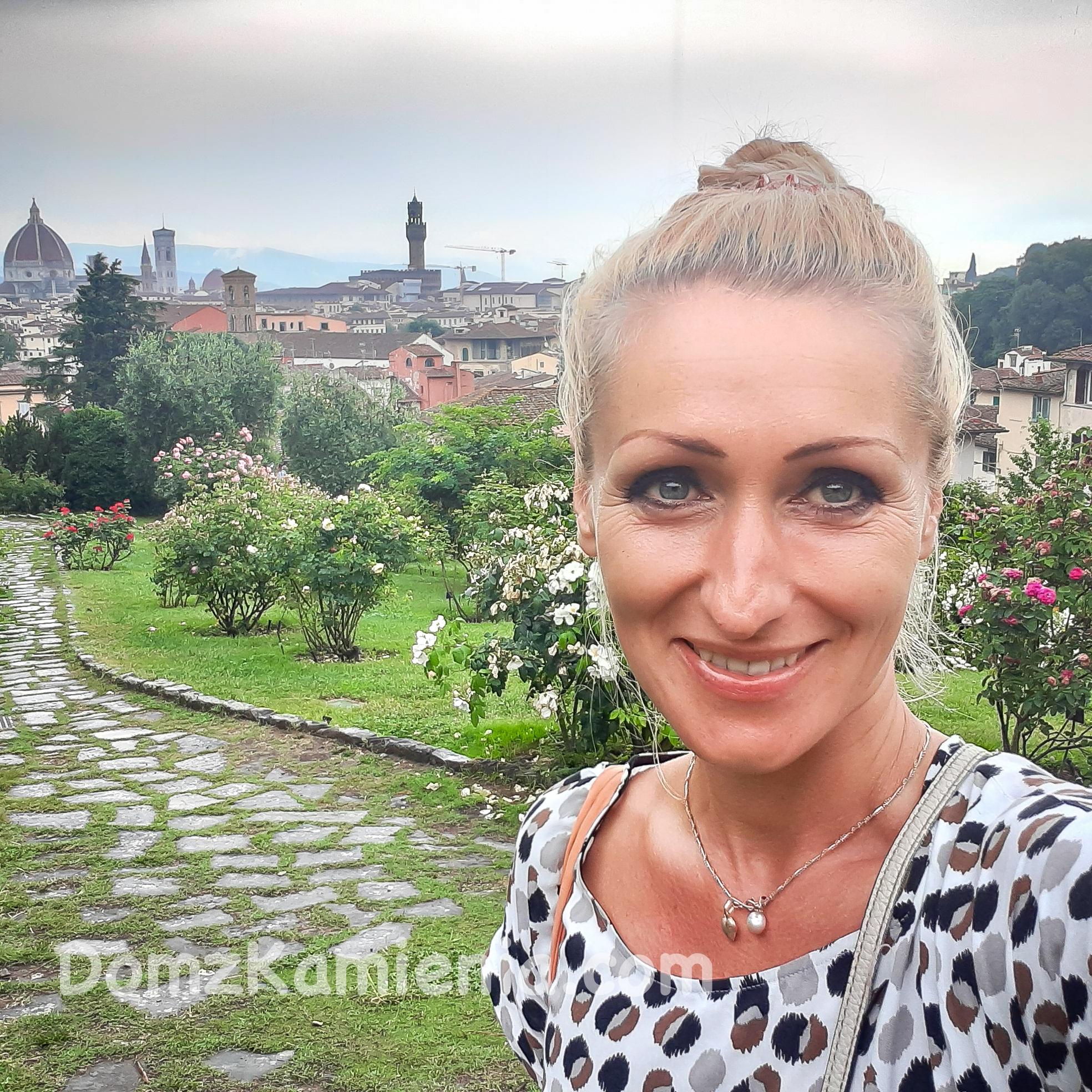 Dom z Kamienia blog, spacer po Florencji