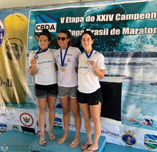 Equipe Nina de Natação representou o estado do Maranhão na etapa de Maceió-AL