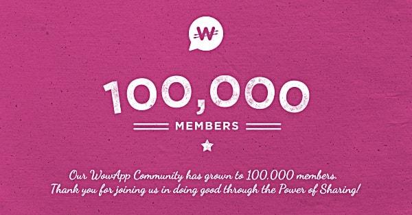 Wowapp um milhao de usuarios