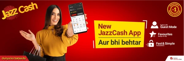JazzCash rolls out an all new and improved mobile app