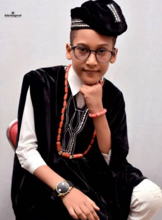 Ronke Oshodi Oke shares rare photo of her son as he turns 8