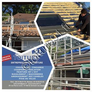 Réfection couverture de toit