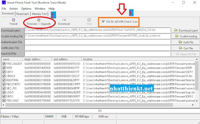 Hướng dẫn chi tiết chạy lại chương trình (Firmware) LENOVO (có video)