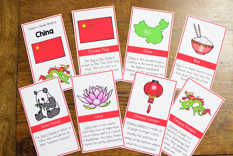 COUNTRY STUDY CHINA: DIFFERENTIATED READING MATERIALS
