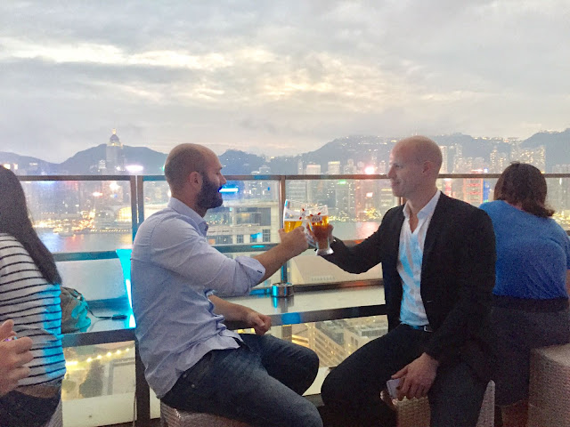Top 5 Rooftop Bars in Hong Kong Restaurant View Harbour Skyline Kowloon TST Eyebar iSquare