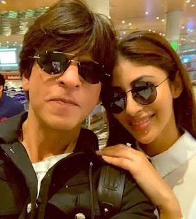 Mouni Roy With Shahrukh Khan