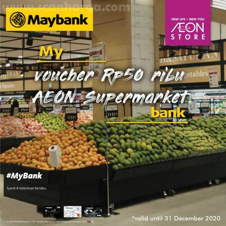 Promo AEON Supermarket