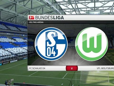 VfL Wolfsburg đối đầu Schalke 04