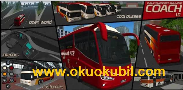 Public Transport Simulator Coach v1.0 Sınırsız Benzin + Para Yeni Hileli Apk İndir 2020