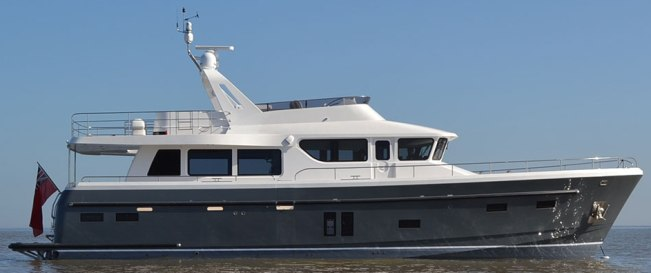 Poweryacht Mag Global Informative Motor Yacht Page New Model Hardy 65