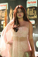 Nidhi Subbaiah Glamorous Pics in Transparent Peachy Gown at IIFA Utsavam Awards 2017  HD Exclusive Pics 42.JPG