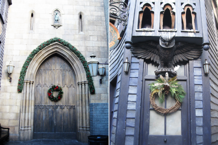 Universal Studios Christmas Celebration at Harry Potter