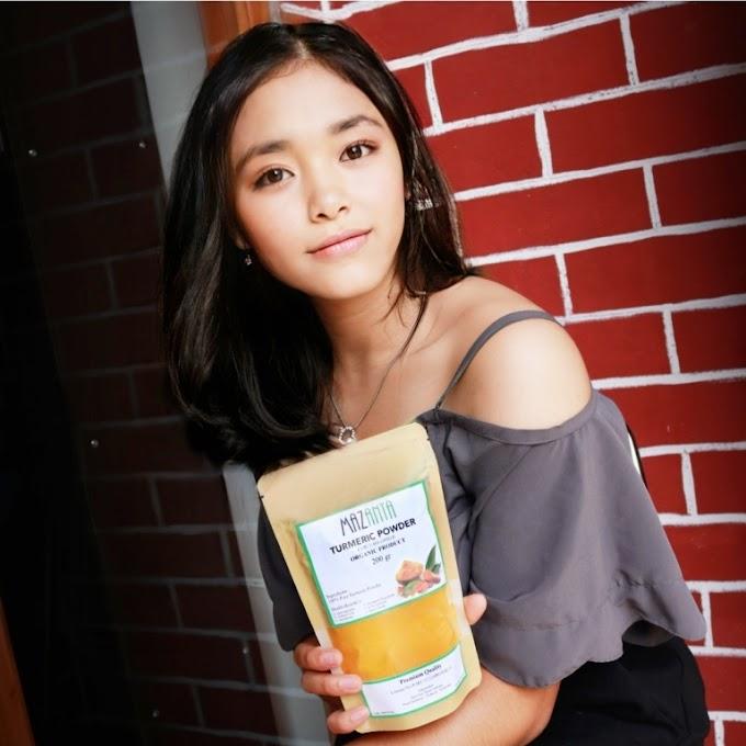 Mazanta Organic Turmeric Powder – Bubuk Kunyit Organik untuk Masakan & Minuman Anda