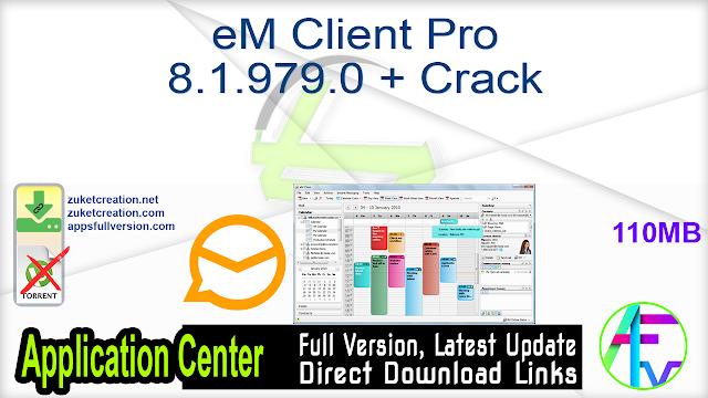 eM Client Pro 8.1.979.0 + Crack