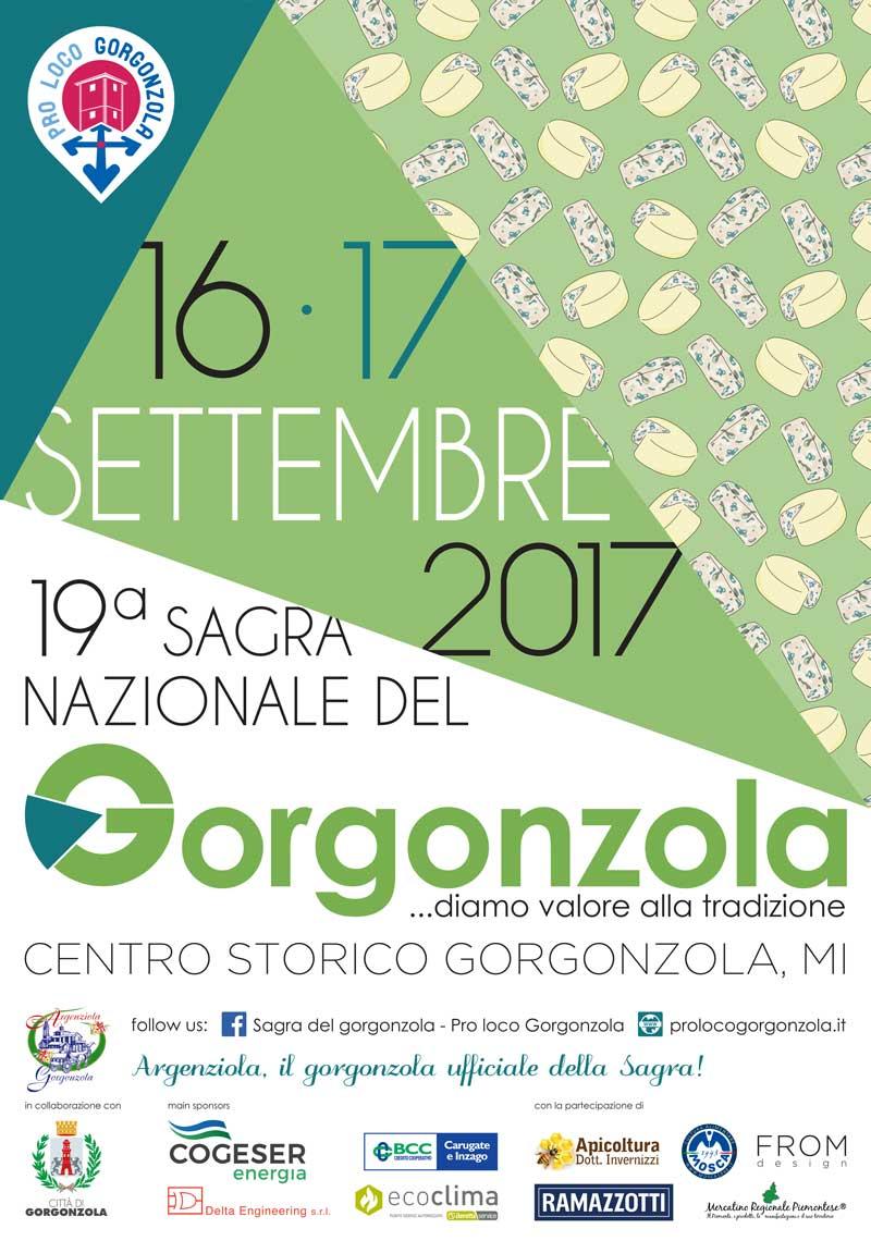 Sagra Nazionale del Gorgonzola 16-17 settembre Gorgonzola (MI)