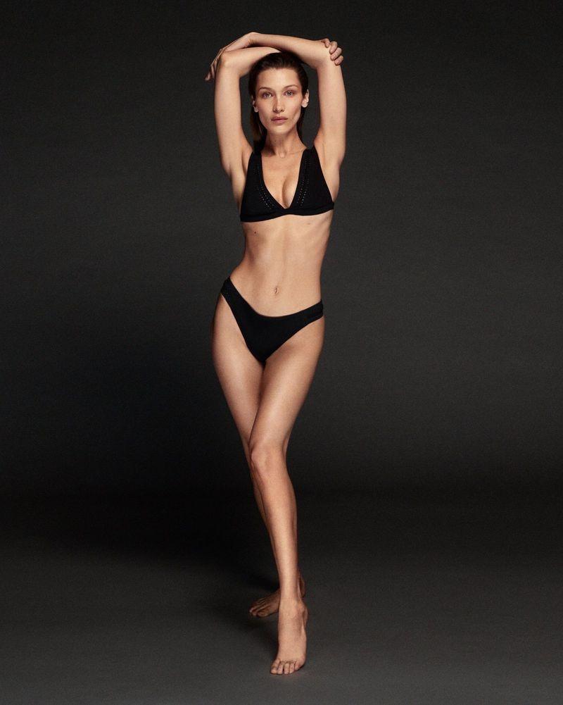 Calvin Klein Swimwear enlists Bella Hadid for new campaign