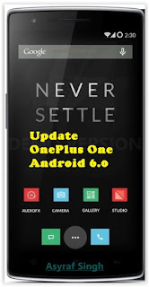 Update OnePlus One to Android 6.0 Marshmallow