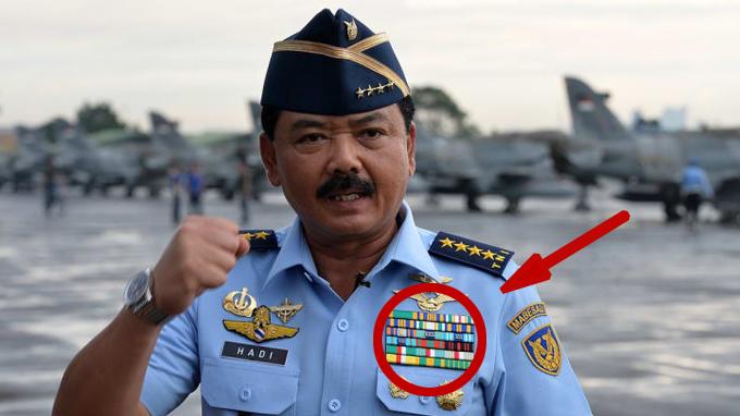 Arti Kotak Warna Warni Pada Seragam Dinas TNI