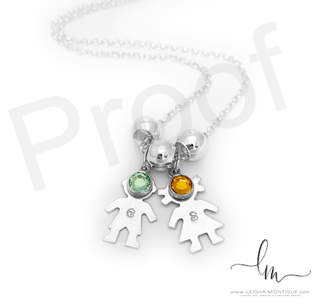 "Boy Charm, Girl Charm, August Birthstone, November Birthstone, 18"" sterling silver necklace, sterling silver charms"